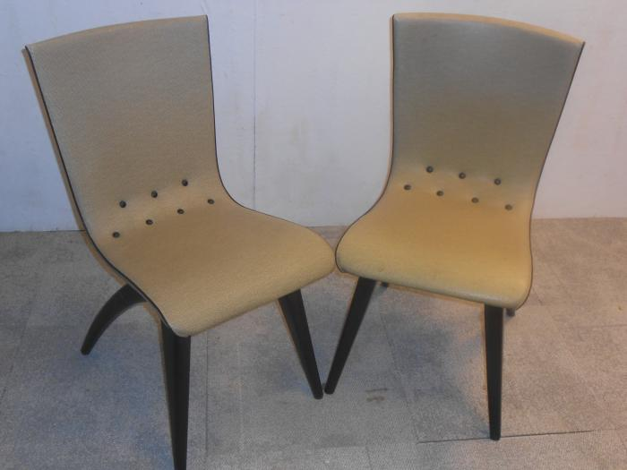 Mooie Retro Stoelen.Mooie Set Van 4 Of 6 G J Van Os Vintage Retro Design Stoelen