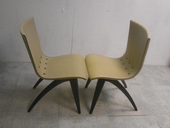 6 Design Stoelen.Mooie Set Van 4 Of 6 G J Van Os Vintage Retro Design Stoelen